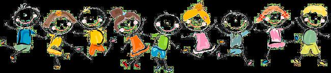 ילדים קופצים על מתנפחים
